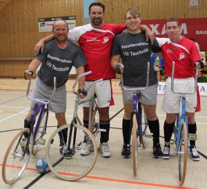 09.04.2016 – Heimspiel der Radballer in der Turnhalle Jesewitz